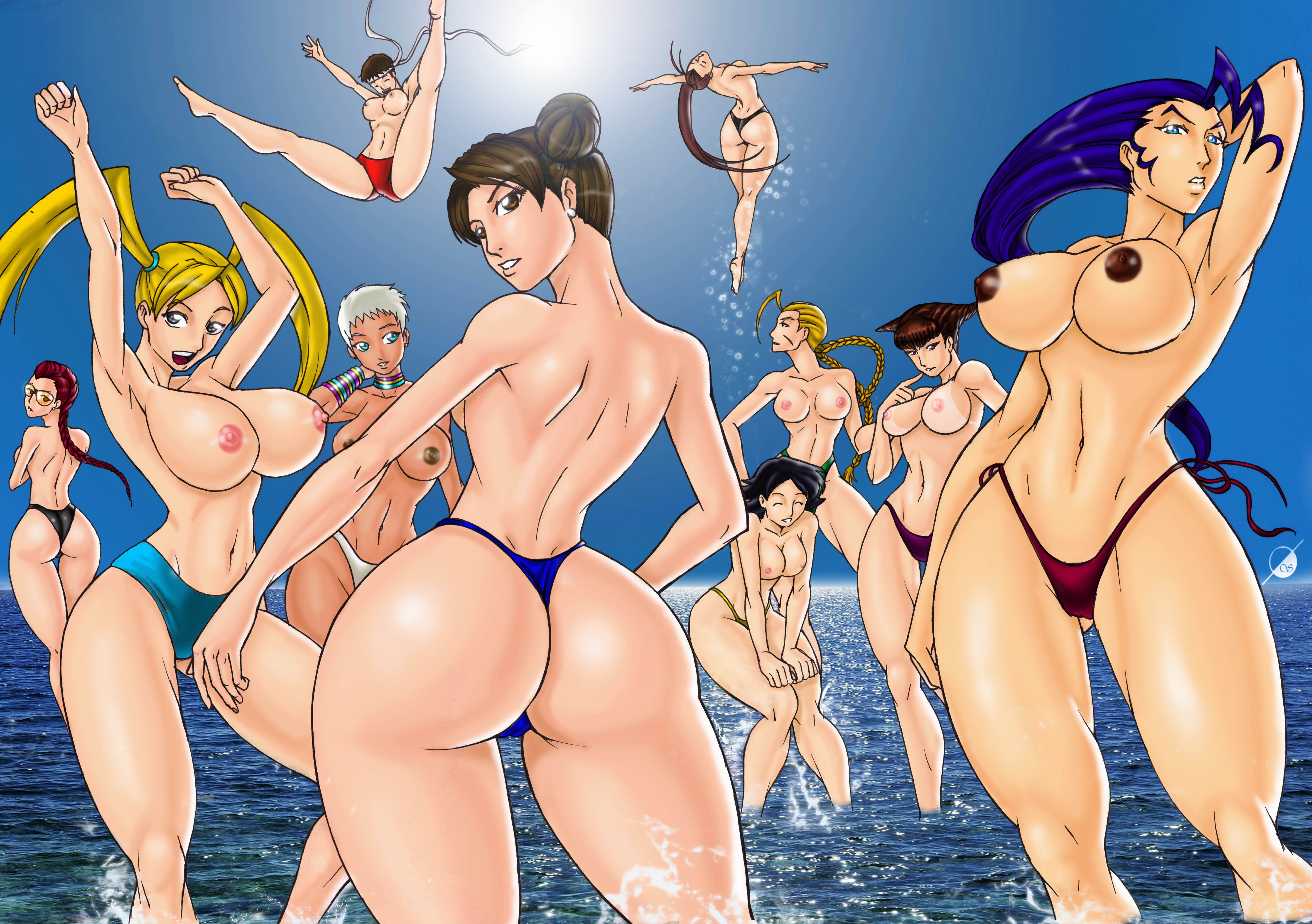 Street fighter hot porn pics smut picture